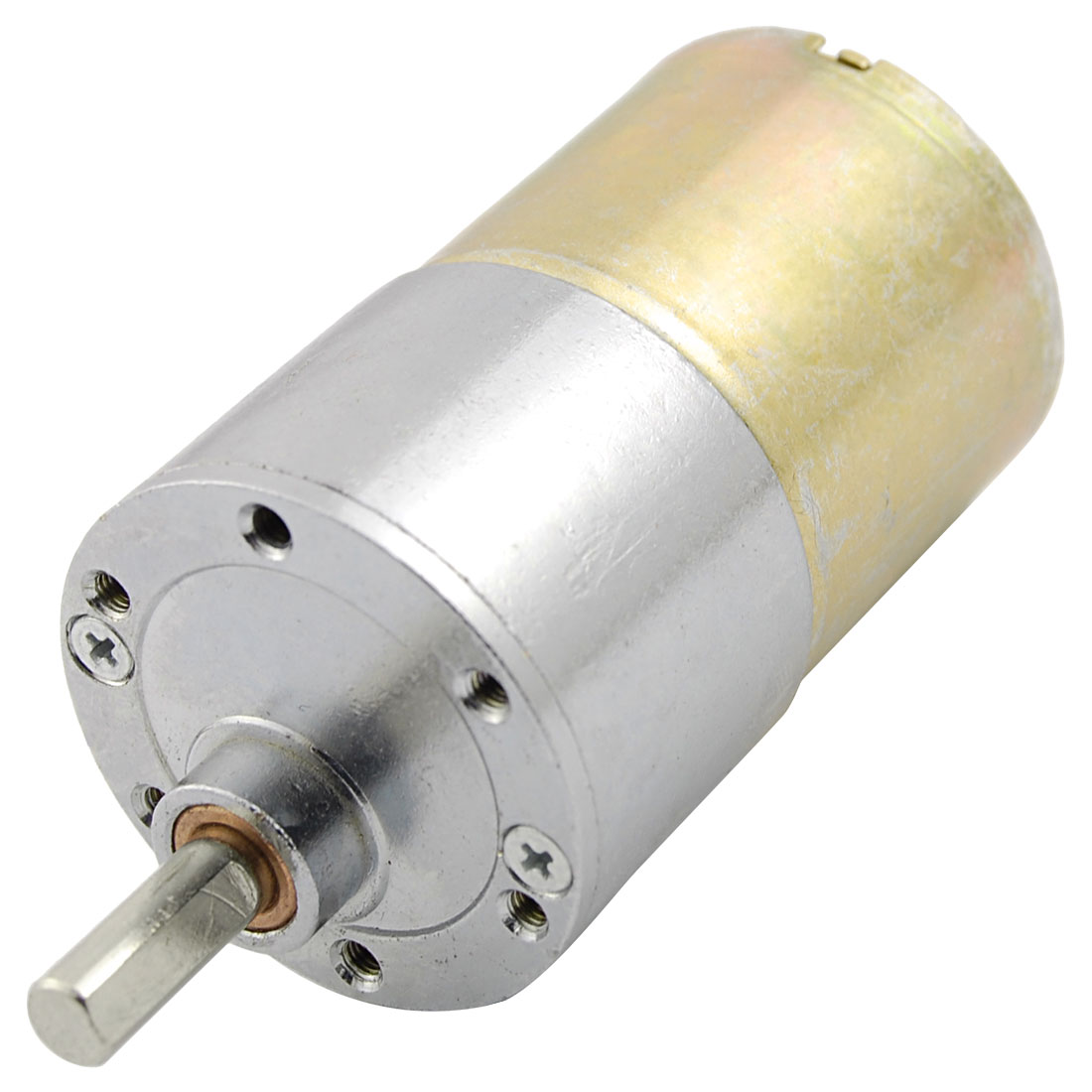DC 12V 130mA 80RPM 2.6Kg-cm High Torque Permanent Magnetic DC Gear Motor