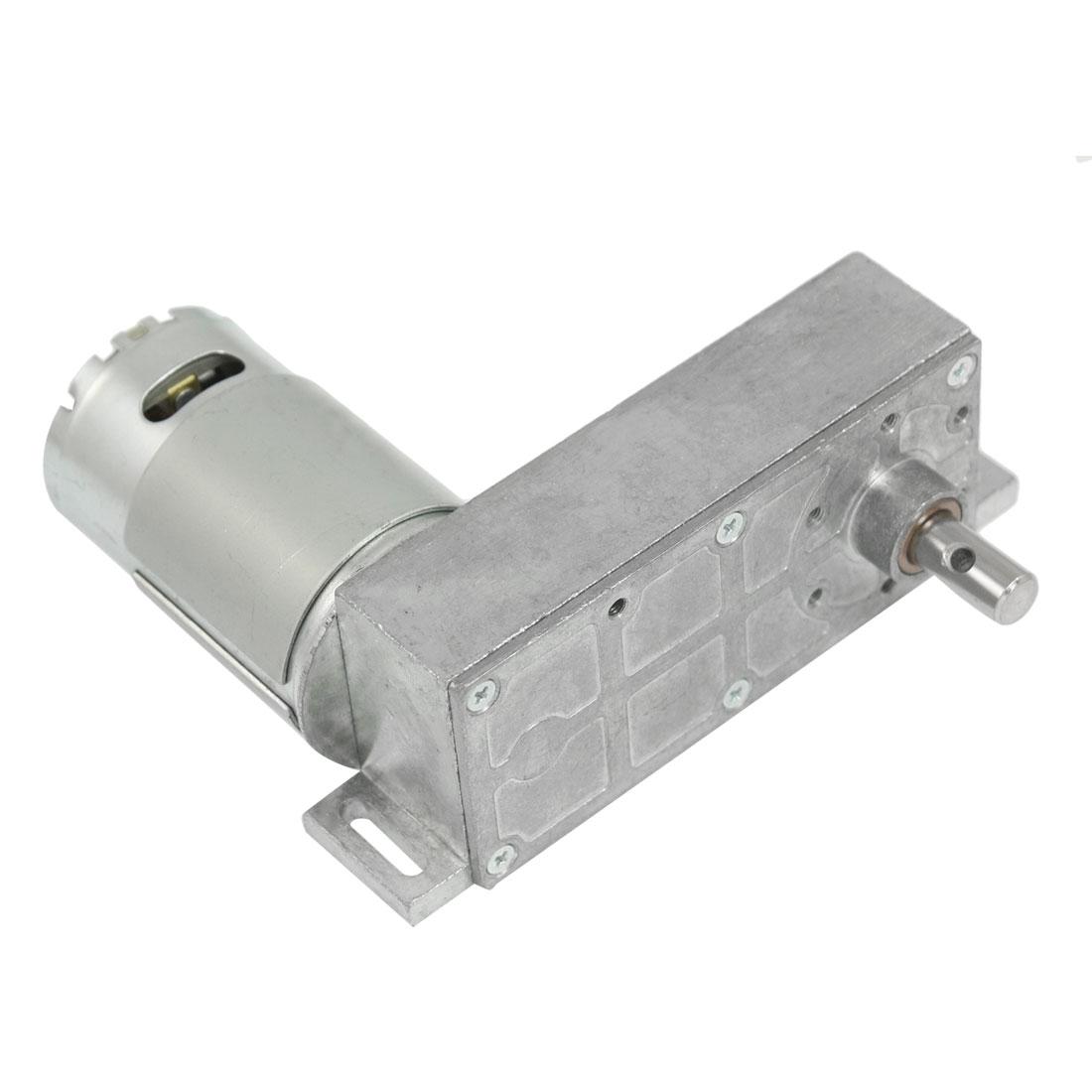 10.96kg.cm Torque 37mm Dia Magnetic Gear Box Motor 22 RPM 150mA 12V DC