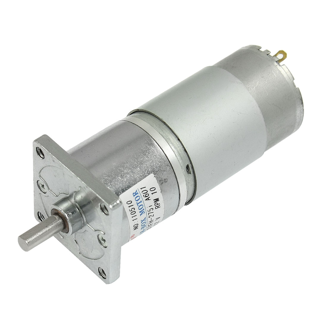 DC 12V 150mA 10RPM 20.9Kg-cm High Torque Permanent Magnetic DC Gear Motor