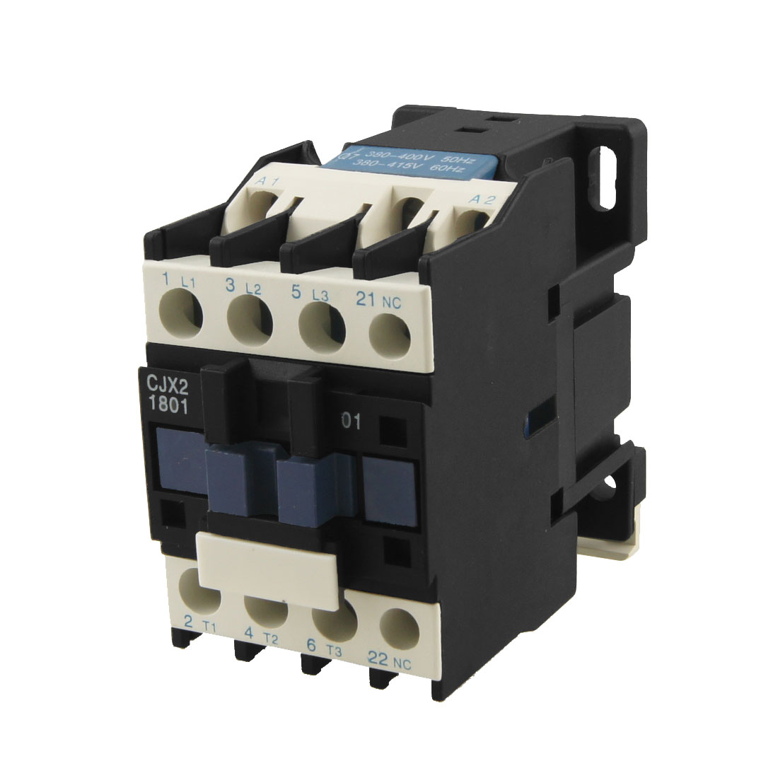 CJX2-1801 AC Contactor 18A 3 Phase 3-Pole NC 380V 50/60Hz Coil