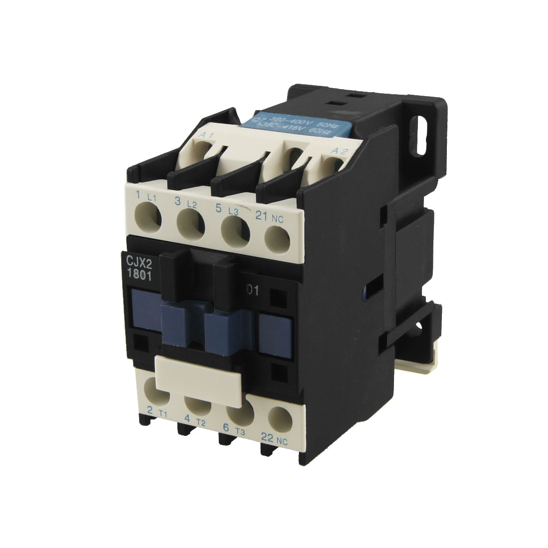 CJX2-1801 AC Contactor 18A 3 Phase 3-Pole NC 220V 50/60Hz Coil