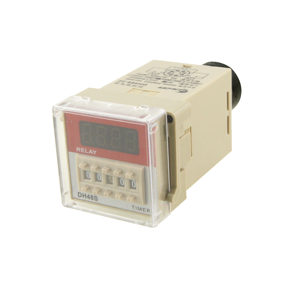 AC 85-264V 0.01 Second to 99M99S Digital Time Relay DH48S-2Z