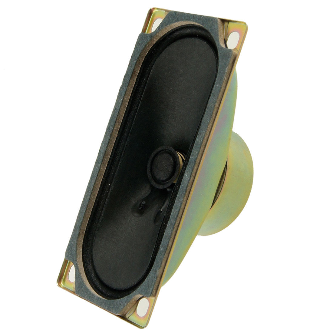 Replacement 120mm x 50mm Square Mount LCD TV Speaker 10W 8 Ohm