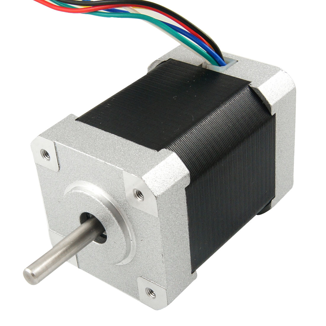 Single Shaft 1000RPM Step Stepper Stepping Motor DC 12-40V 2.5A