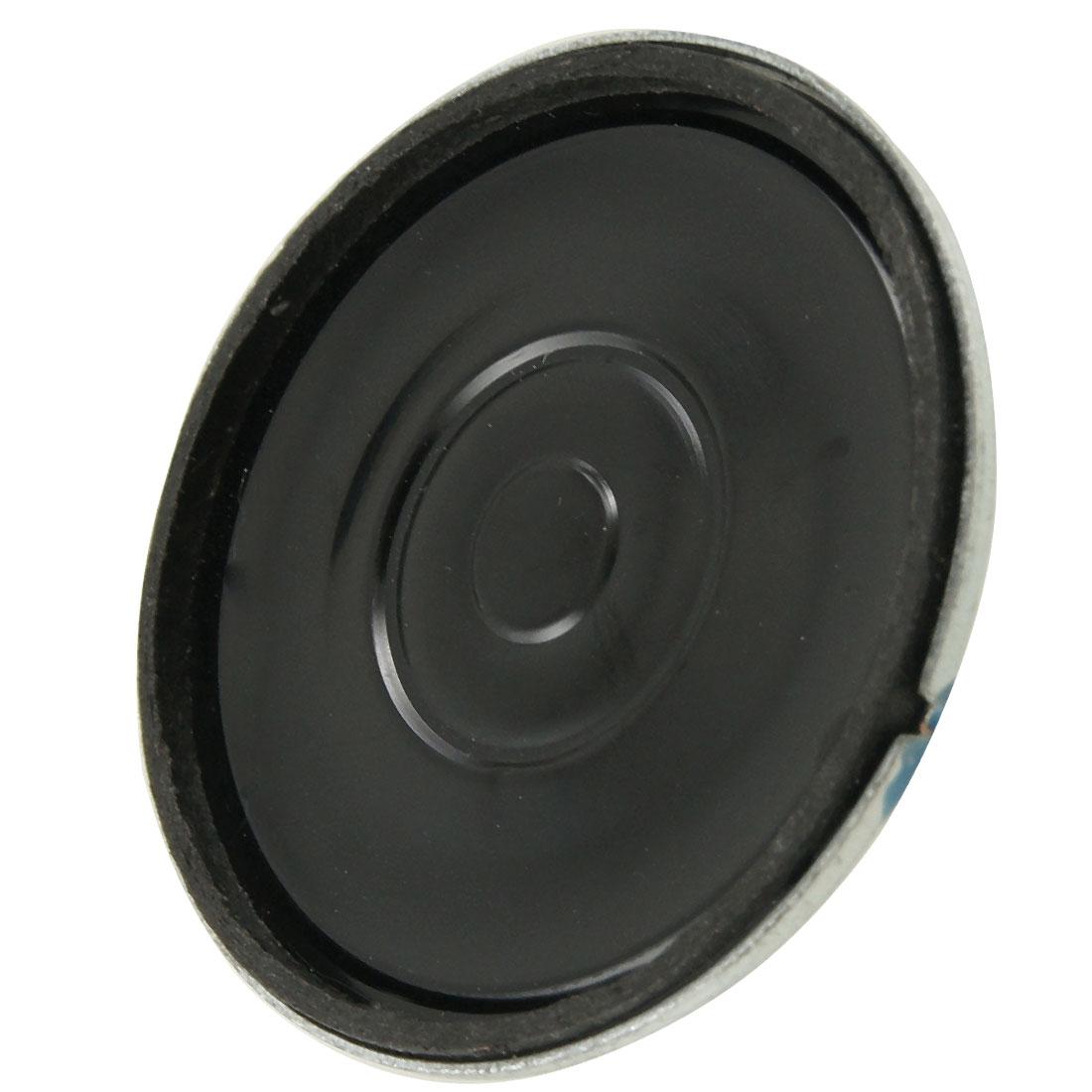 Audio Equipment 1W 8 Ohm 36mm Diameter Midrange Speaker