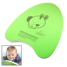 Swimming Pool Fitness Android Green Triangle Shape Aid Float Kick Board