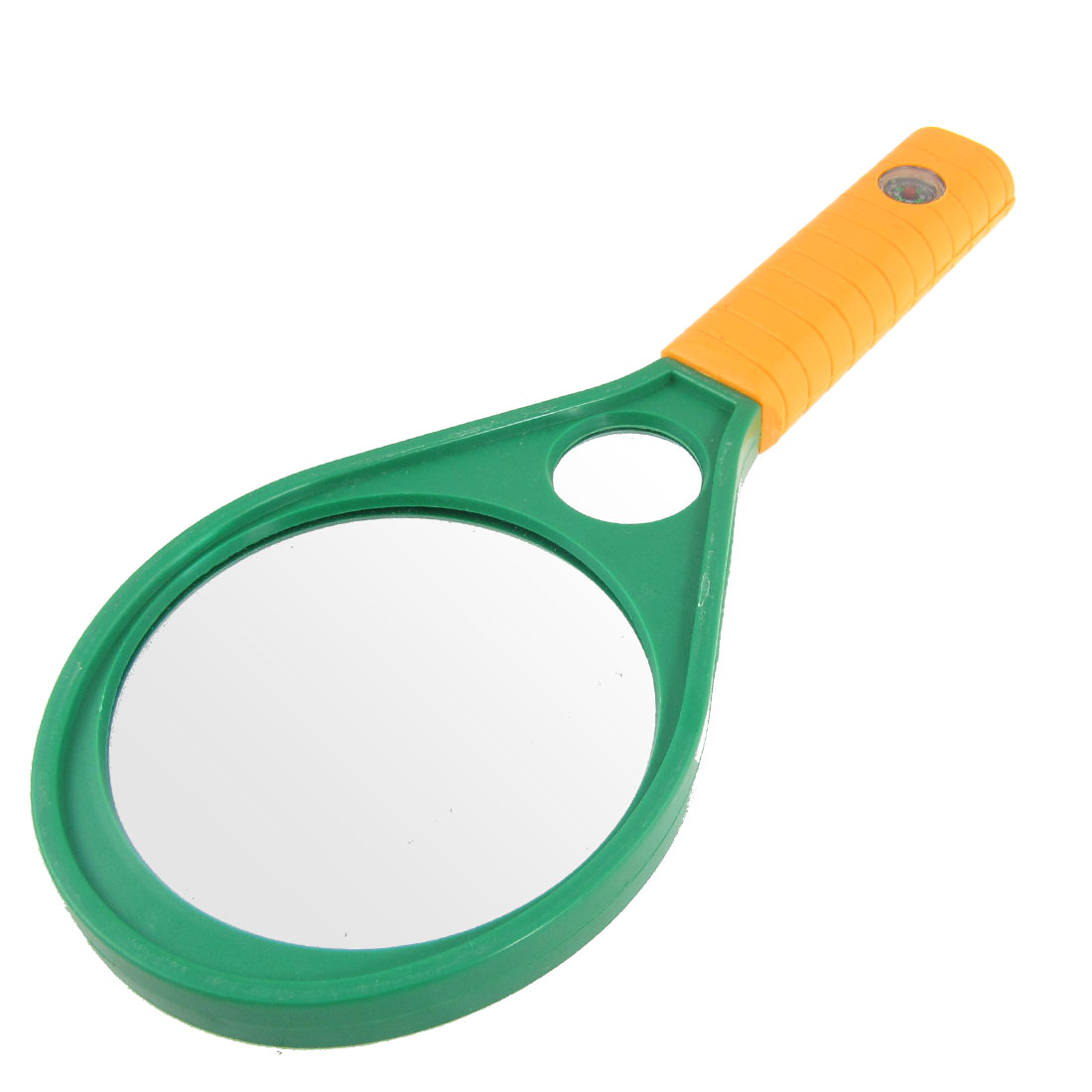 90mm 3X Nonslip Plastic Handle Double Glasses Magnifying Magnifier for Reading