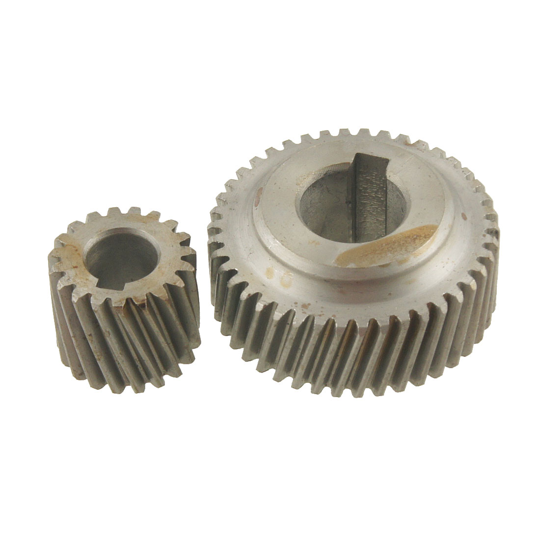 2 Pcs Metal Spiral Bevel Gear Power Tool Spare Part for Makita 4100