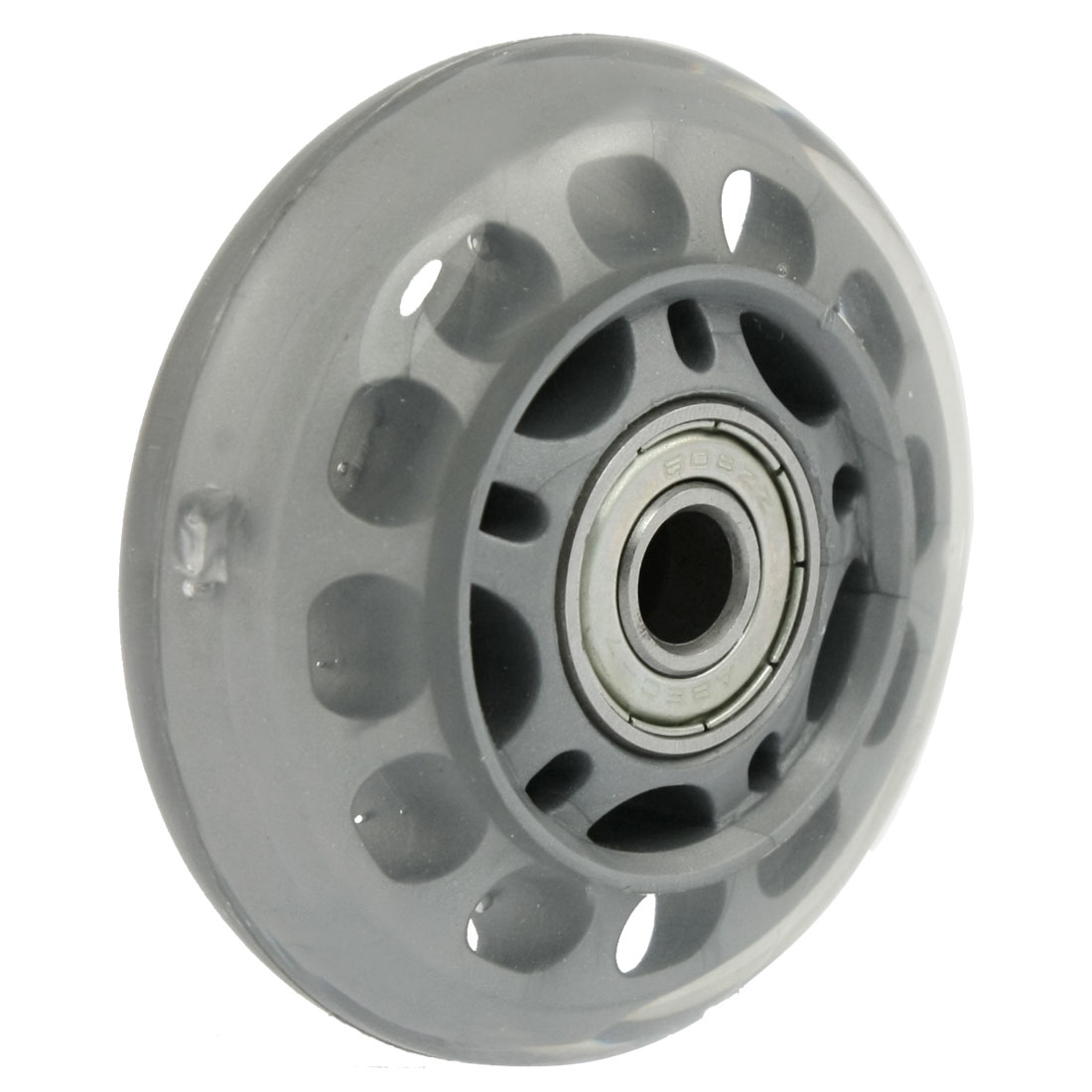 Skateboard Replacement TPU Skate Roller Wheel Gray Clear
