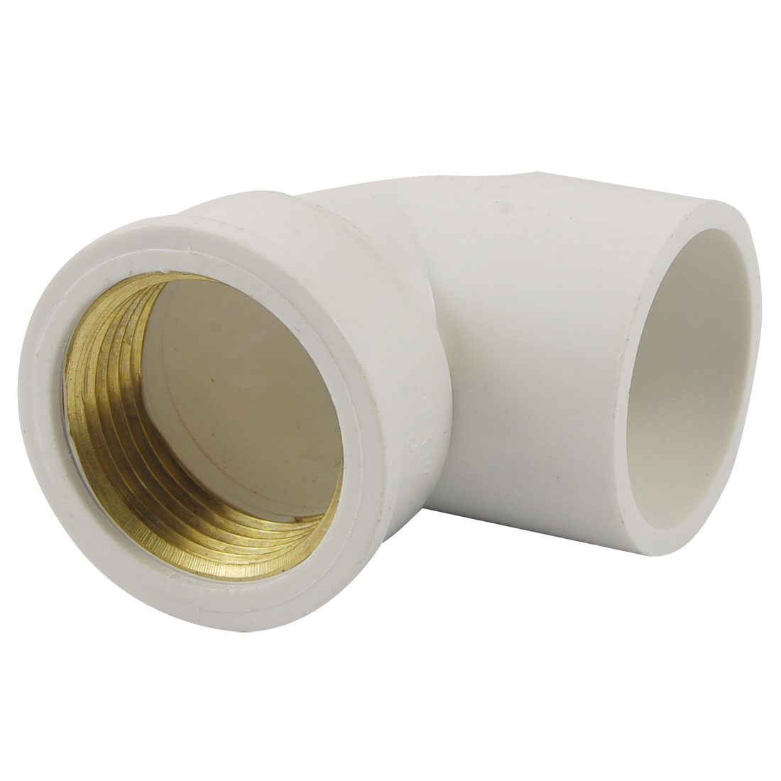 "1"" PT Female Thread Right Angle Water Pipe Tube Adapter Fitting"