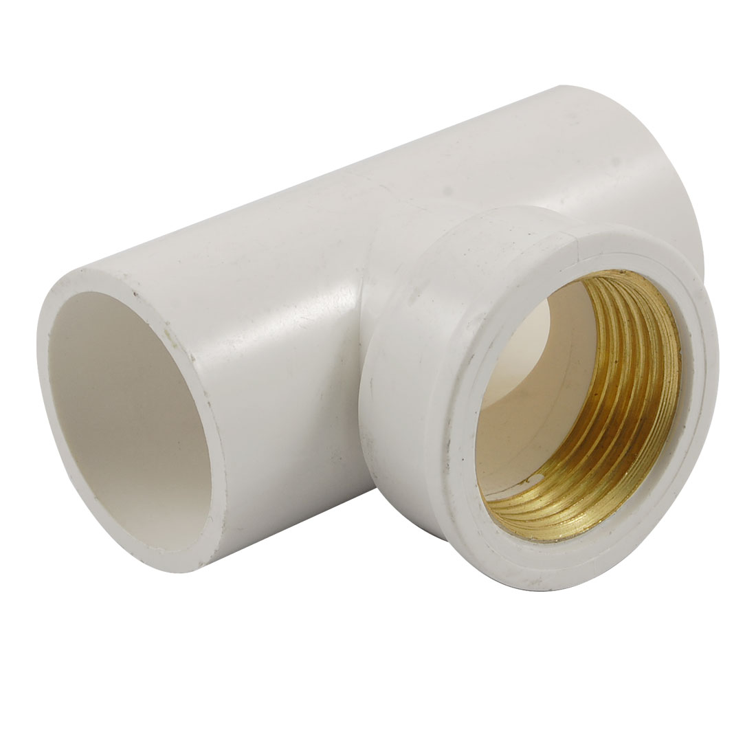 "1"" PT Female Thread 3 Way Water Pipe Tube Adapter Connector Fitting"