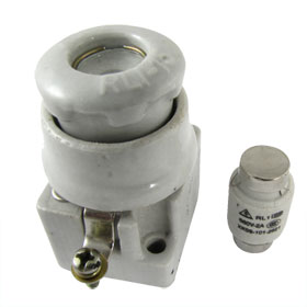 RL1-15 AC 380V Ceramic Spiral Fuse Base Holder with 2A Fuse Link