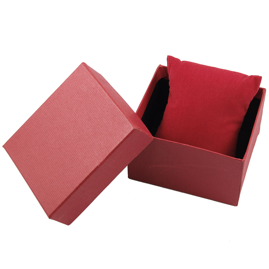 Gift Storage Wrapping Bracelet Wrist Watch Holder Box Case Red