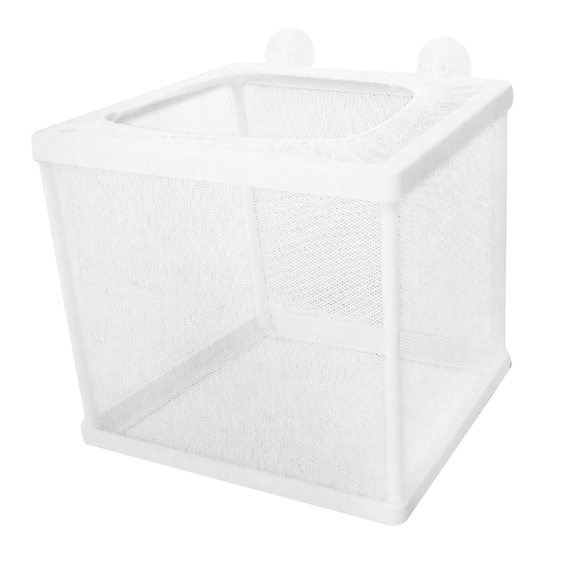 Fish Tank Aquarium Plastic Frame White Net Fry Hatchery Breeder