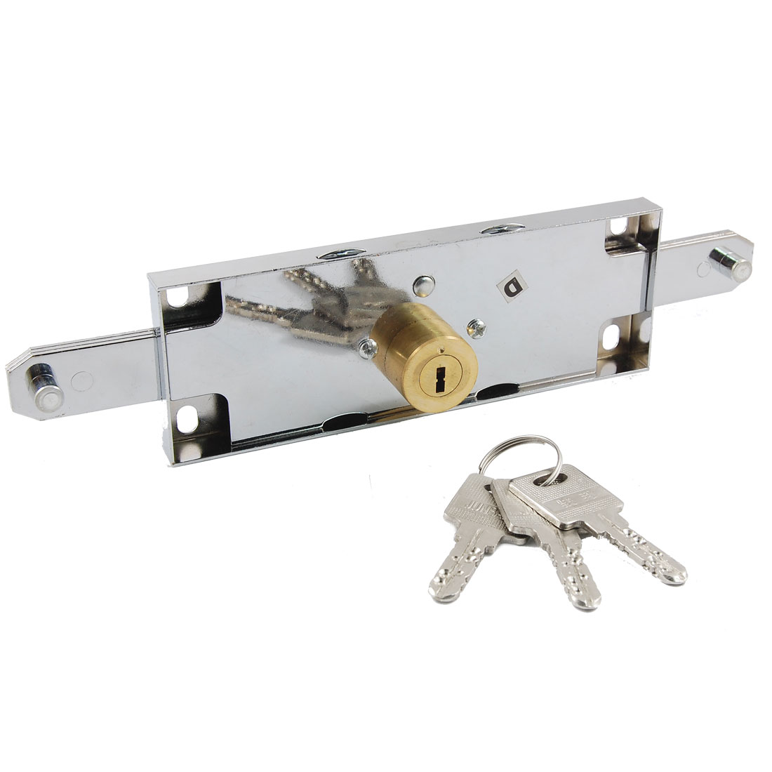 Warehouse Garage Vertical Keyway Metal Rolling Gate Door Lock Replacement