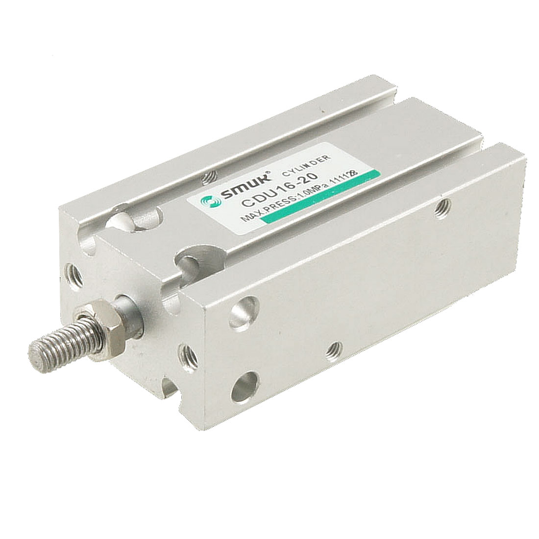 Double Action 16mm Bore 20mm Stroke Single Rod Pneumatic Air Cylinder