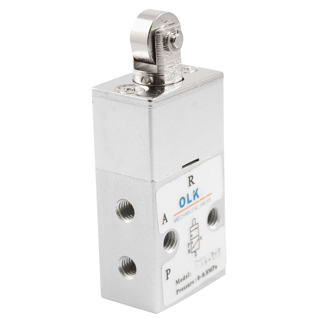 S3V-M5 2 Position 3 Way Roller Pneumatic Air Mechanical Valve