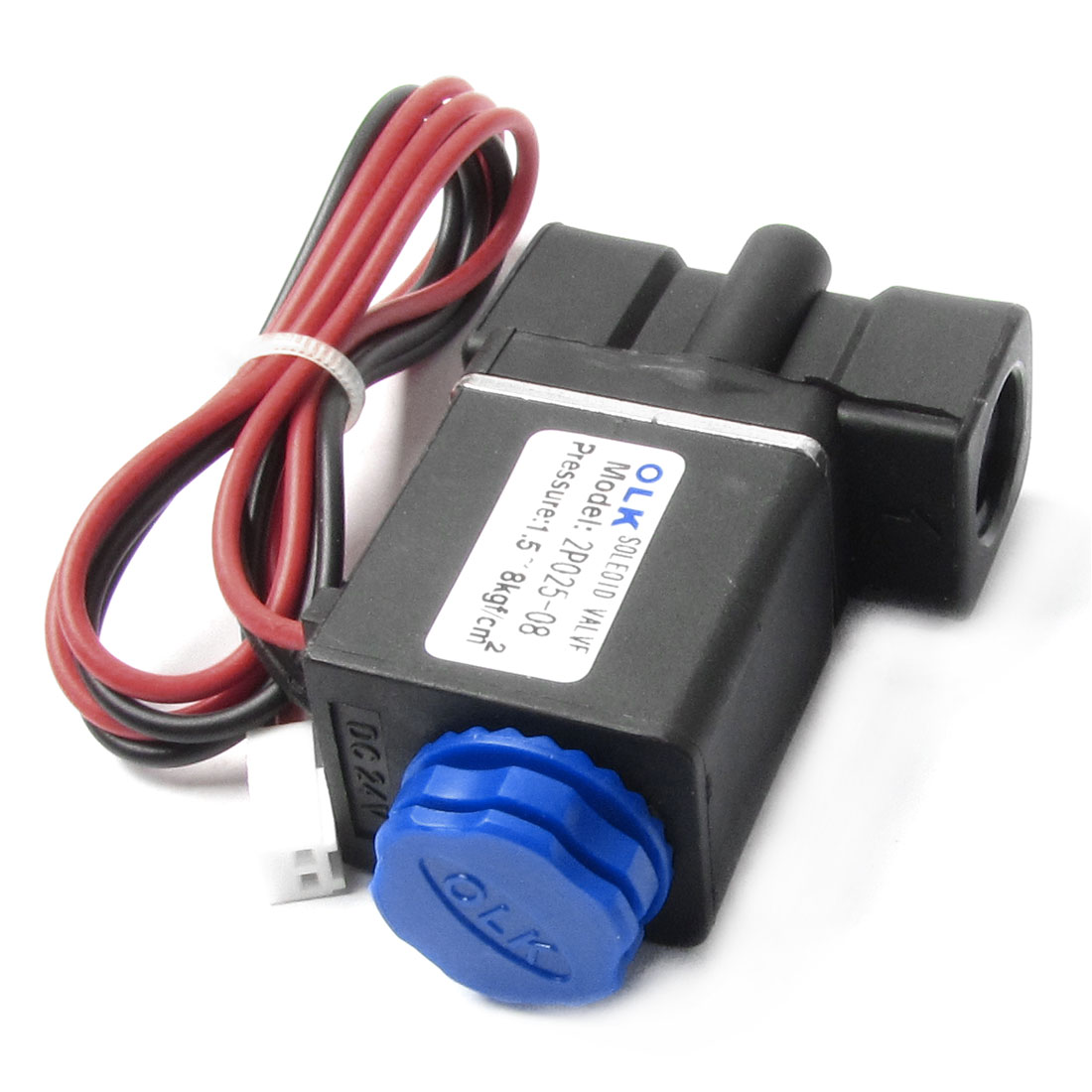 DC 24V 6.0W Direct Acting Wired Electrical Solenoid Valve