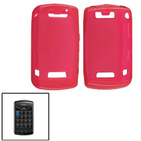 Red Soft Plastic Case Protector for BlackBerry 9500 9530