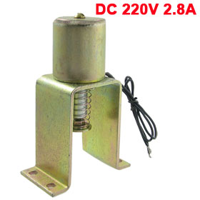 DC 220V 2.8A 5Kg Force Closing Operation Electromagnet Solenoid CT23-D
