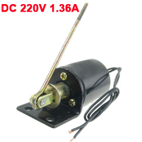 DC 220V 1.36A 5Kg Force Closing Operation Electromagnet Solenoid CT19