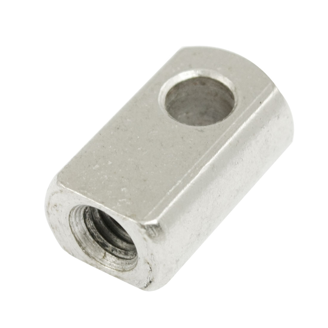 Silver Tone Metal Gas Spring Eye End Eyelet Connector