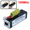 RJ45 Ethernet Network Surge Protector Thunder Arrester 100MHz