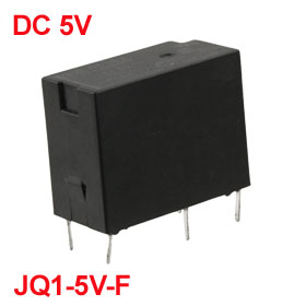 DC 5V Coil Voltage 5 Terminals General Purpose Relay 5A