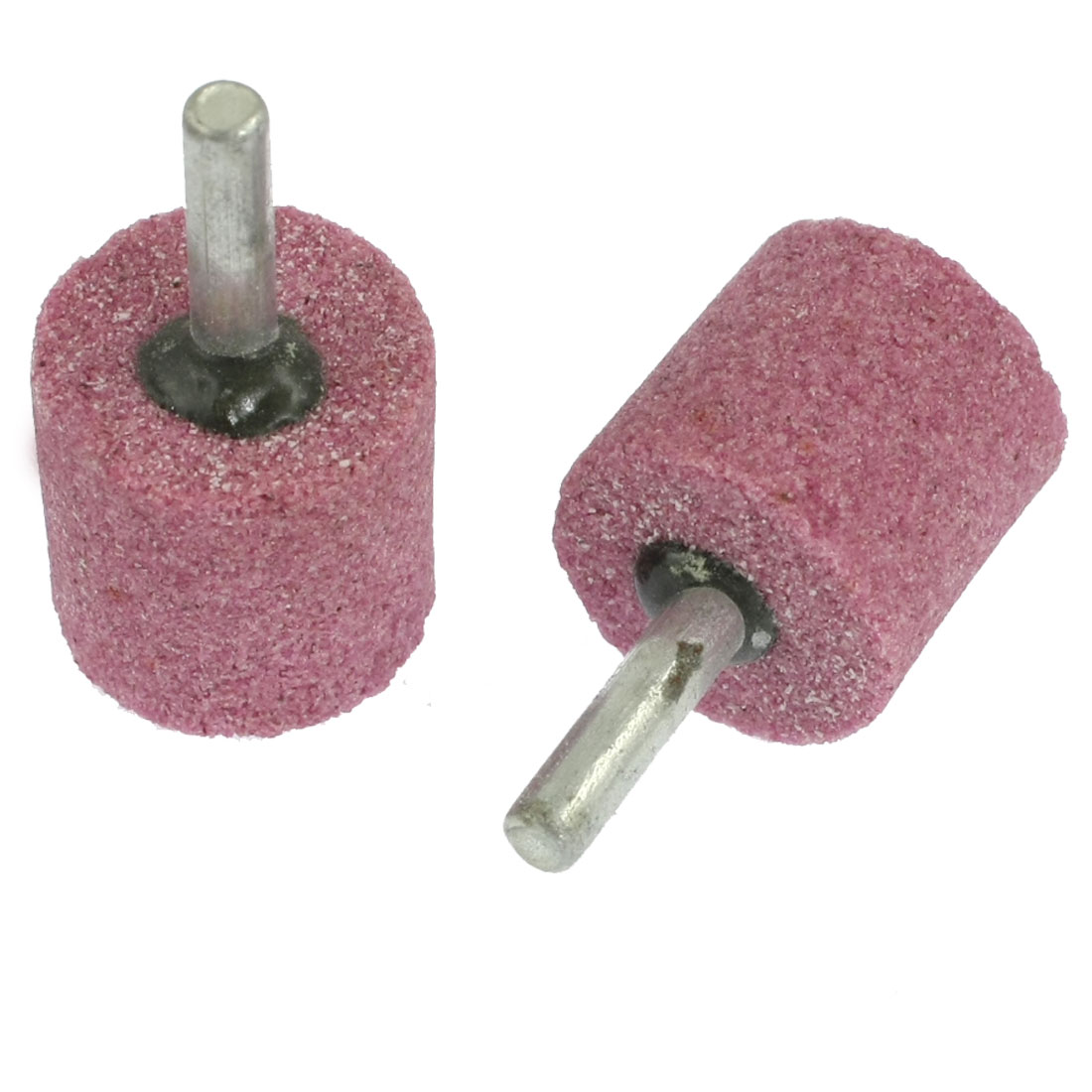 27mm Head Ceramic Stone Abrasive Grinding Mounted Points 2 Pcs