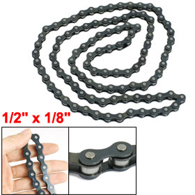 "108 Links Speed Bicycle Bike Metal Chain 1/2"" x 1/8"""
