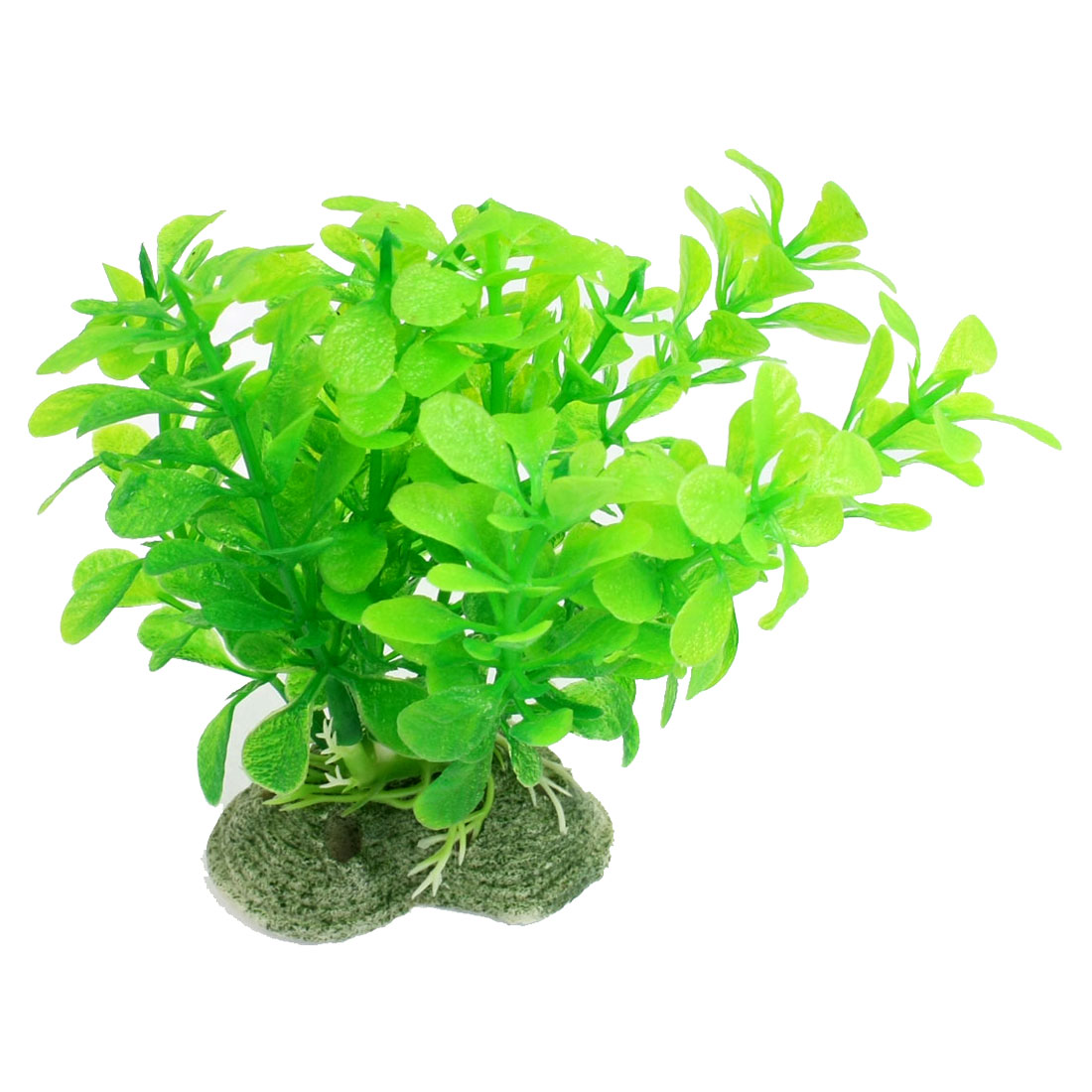 Green Leaves Decor Emulational Water Plant Decoration for Fish Tank