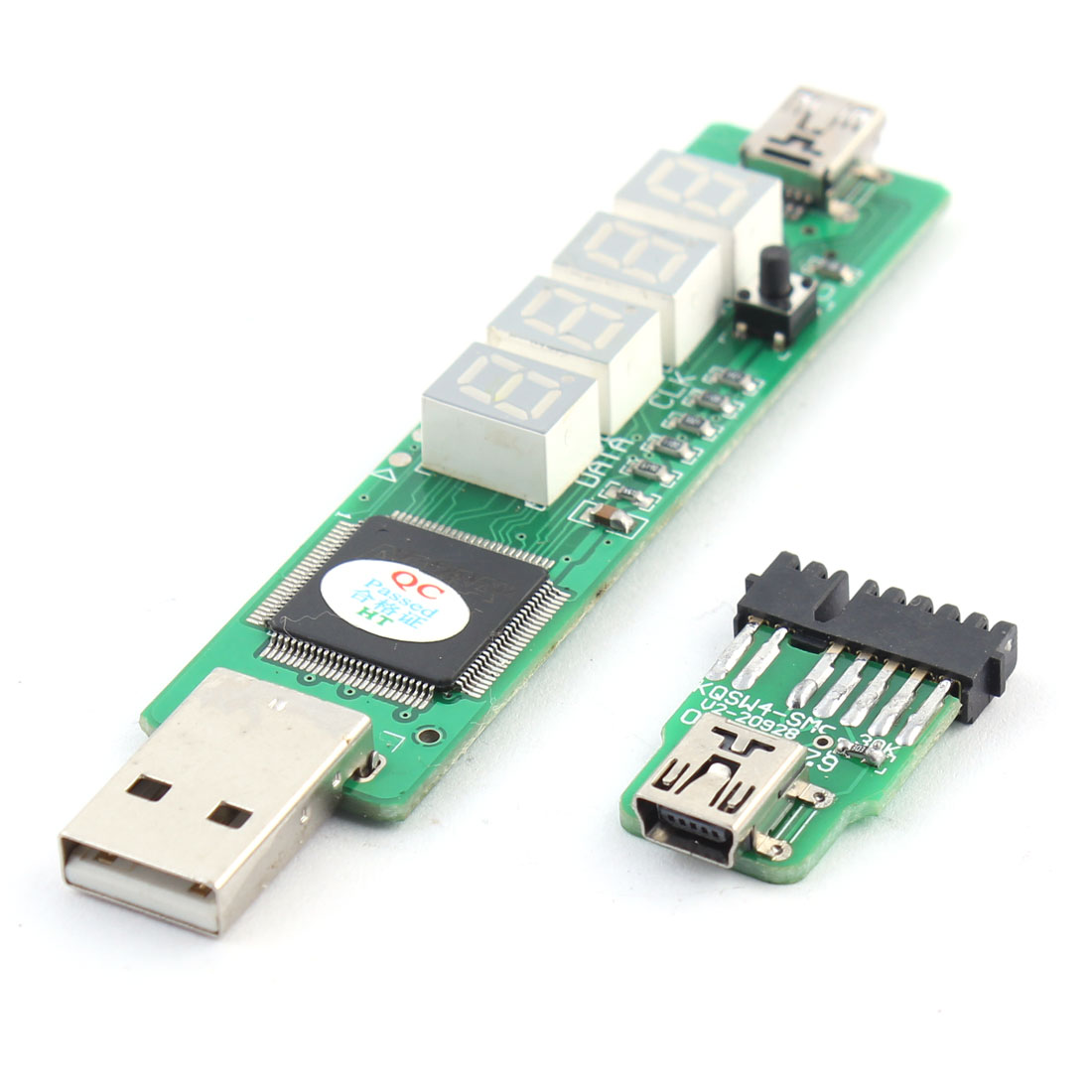 Computer Mainboard KQSW4 4 Bits SM+I2C POST Diagnostic Card for IBM Laptop