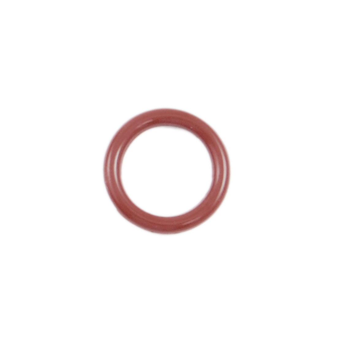 50 Pcs 14mm OD 2mm Thickness Red Silicone O Ring Oil Seals Gaskets
