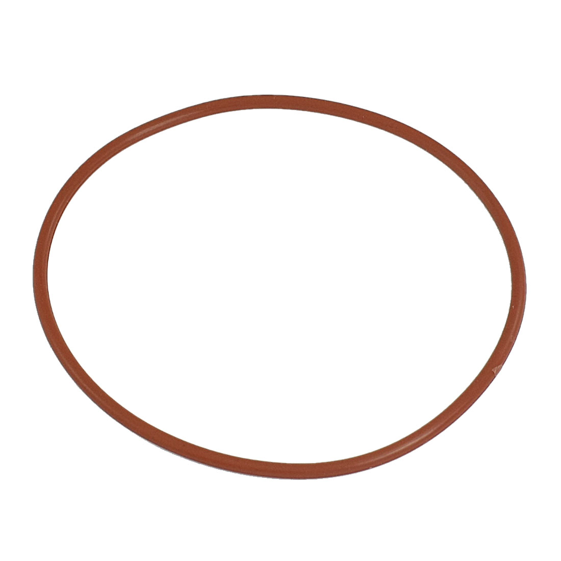 Red Silicone O Ring Shaft Seal Gaskets 110mm x 104mm x 3.5mm