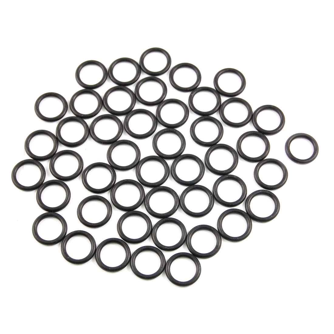 50 Pcs NBR 14mm x 2mm Hole Sealing O Rings Gaskets Washers for Mechanical