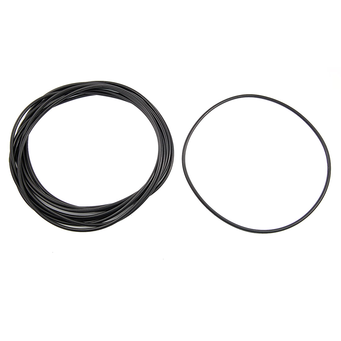 10 Pcs 170mm x 4mm Mechanical Nitrile Rubber O Ring Oil Seal Gaskets