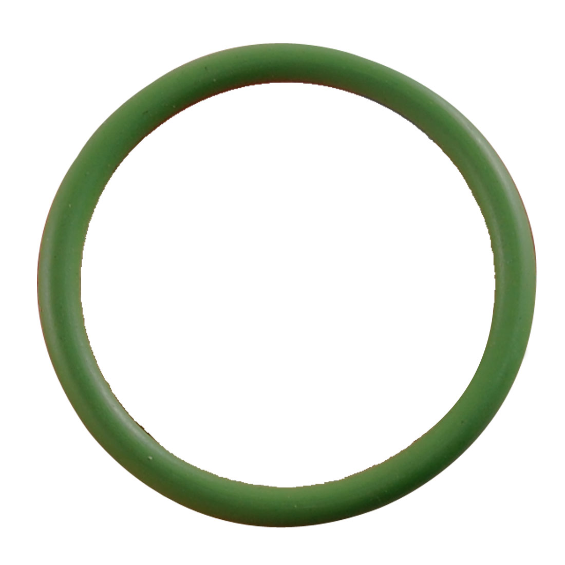 25mm OD 2mm Thickness Green Fluorine Rubber O Ring Oil Seal Gasket