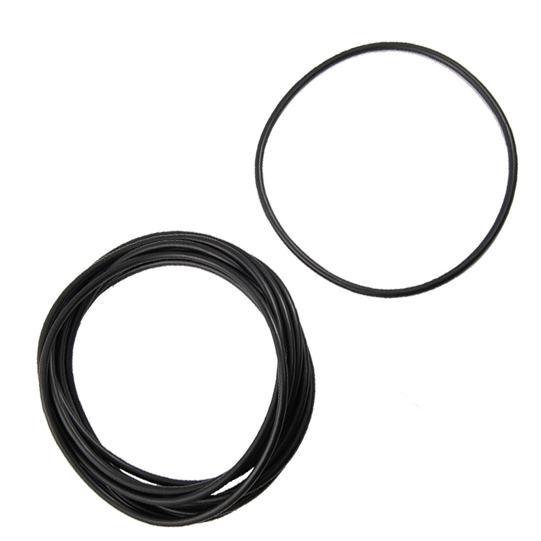 10 Pcs Mechanical Black NBR O Rings Oil Seal Washers 150mm x 5mm x 140mm