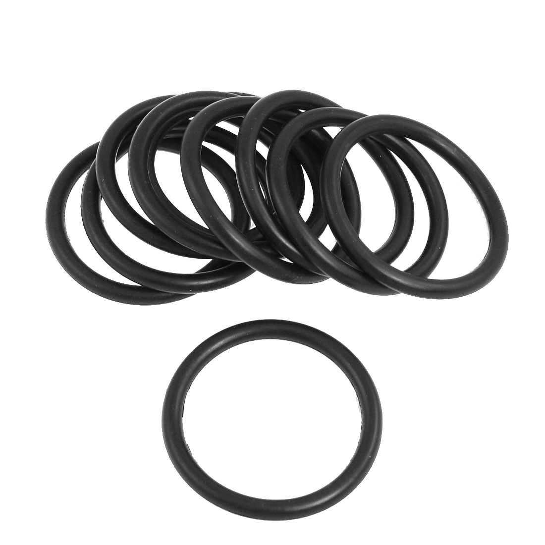 10 Pcs Flexible Nitrile Rubber O Rings NBR Seal Grommets 60mm x 5.7mm