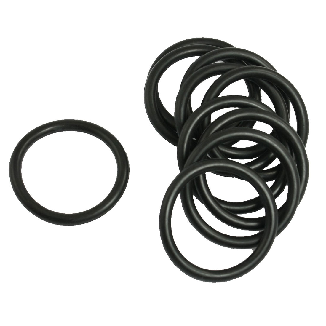 10 Pcs Mechanical NBR O Rings Oil Seal Gaskets 39mm x 4mm x 31mm