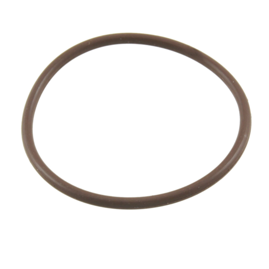 Coffee Color 50mm x 2.5mm Fluorine Rubber O Ring Oil Sealing Grommet