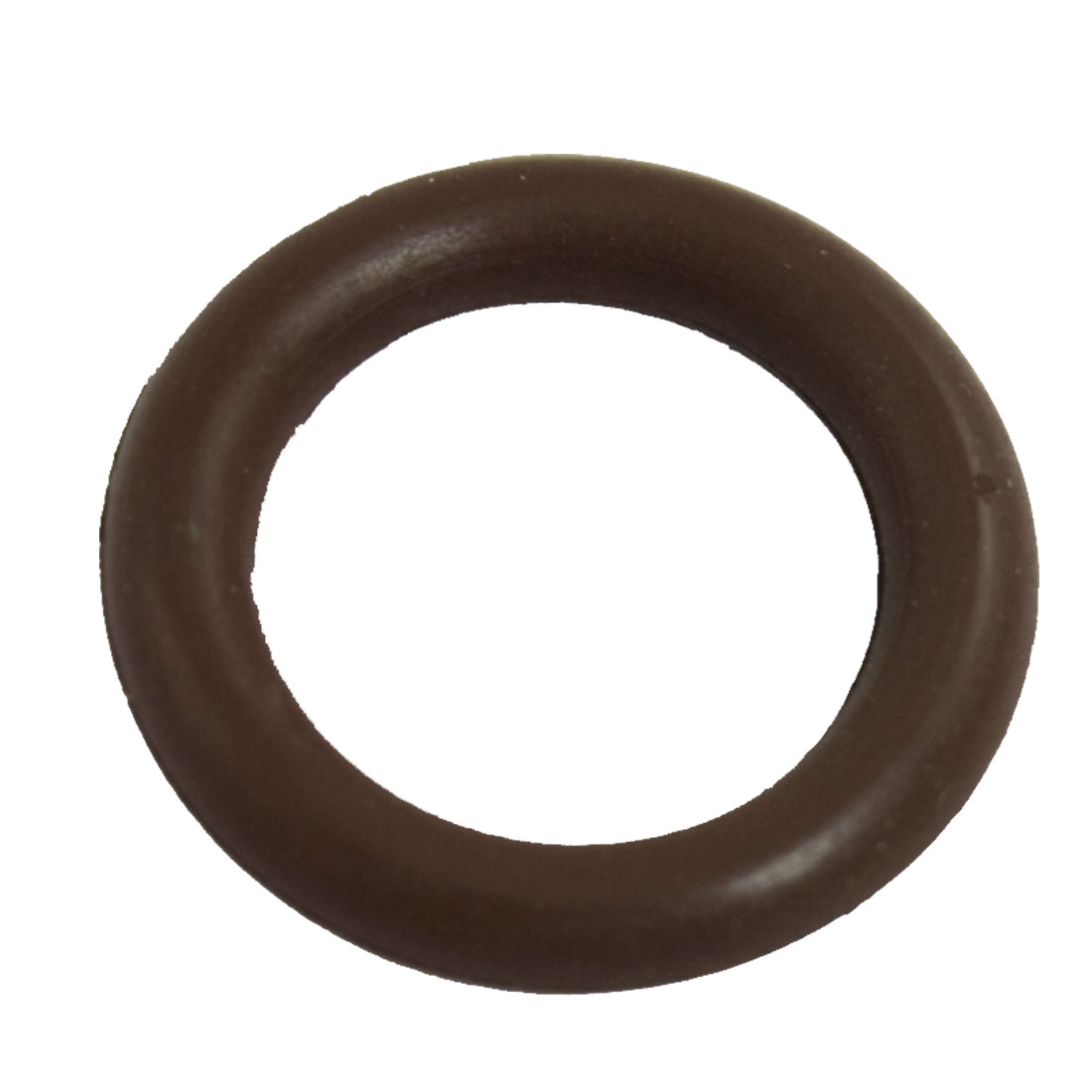 13mm x 19mm x 3mm Fluorine Rubber Sealing O Ring Gasket Washer Coffee Color