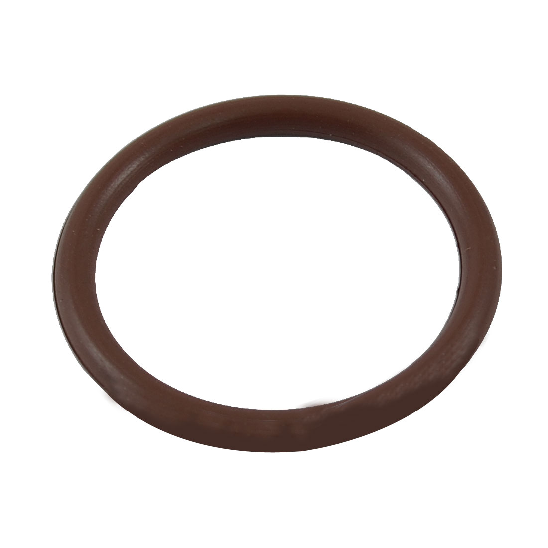 32mm OD 3mm Thickness Coffee Color Fluorine Rubber O-ring Oil Seal