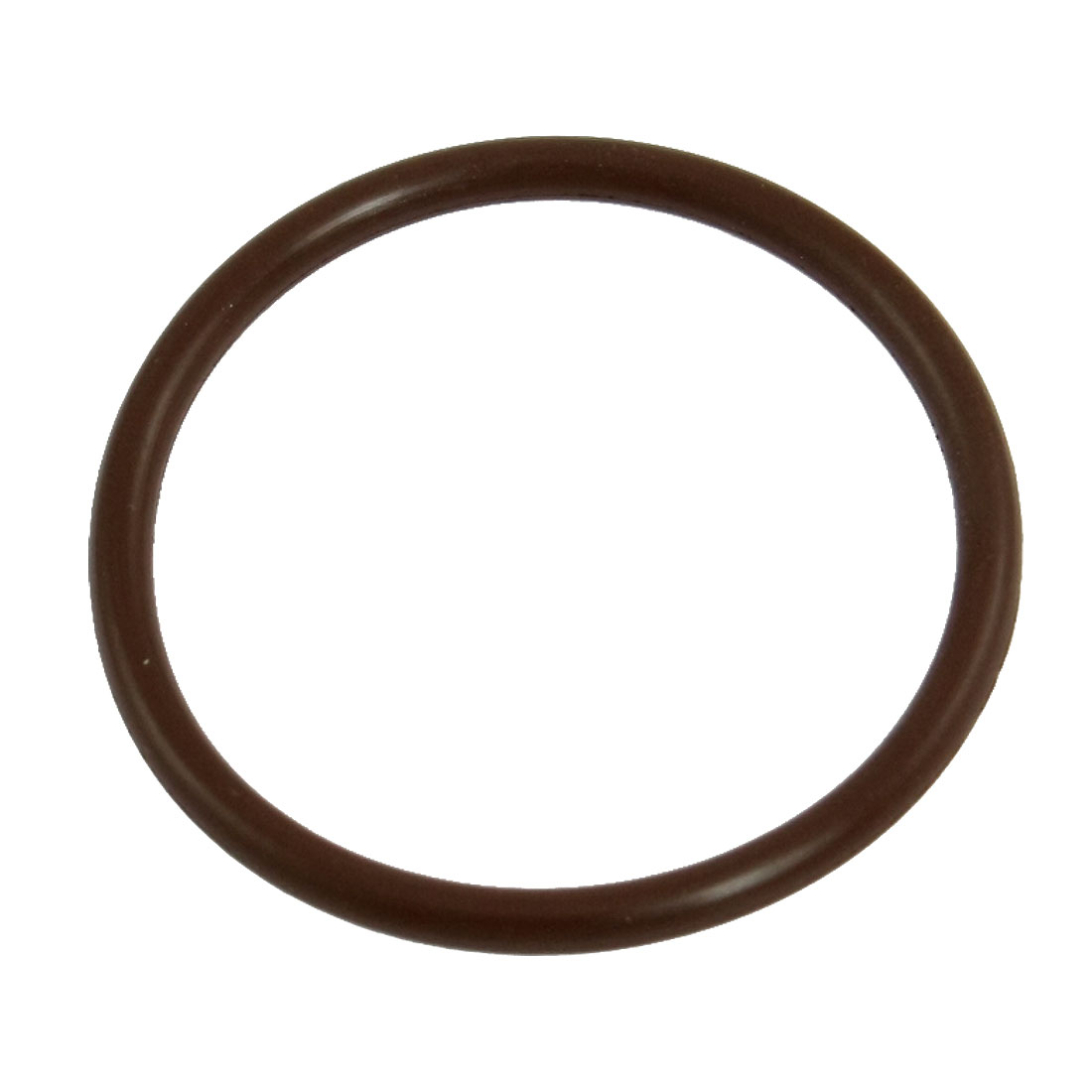 36mm x 42mm x 3mm Fluorine Rubber Sealing O Ring Gasket Washer Coffee Color