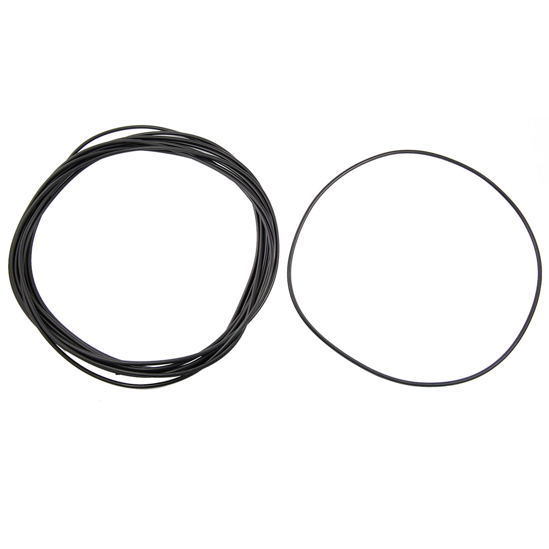 10 Pcs Metric O Rings Black Nitrile Rubber 210mm OD 3.5mm Thick