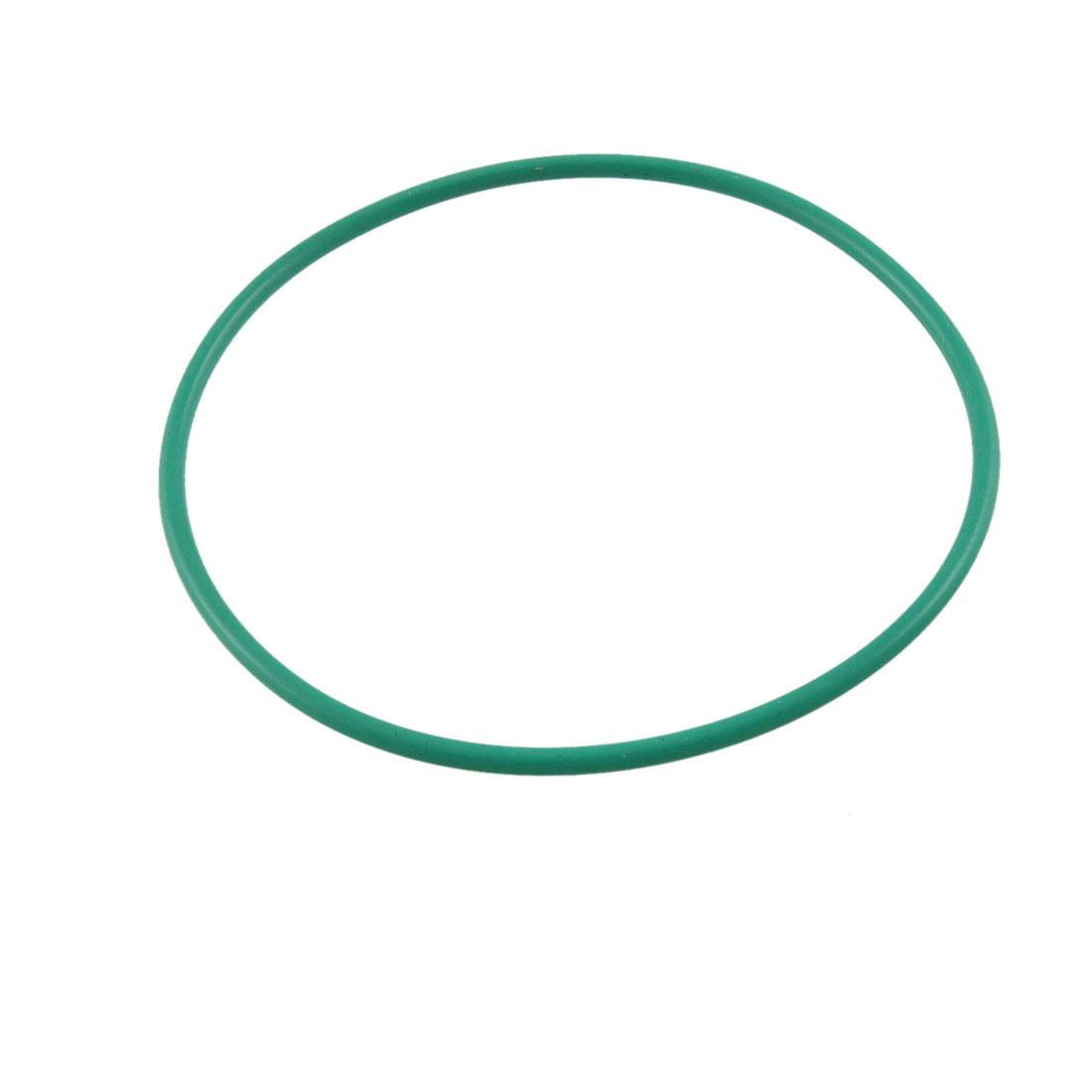 Fluorine Rubber O Ring Oil Sealing Gasket 75mm x 70mm x 2.5mm