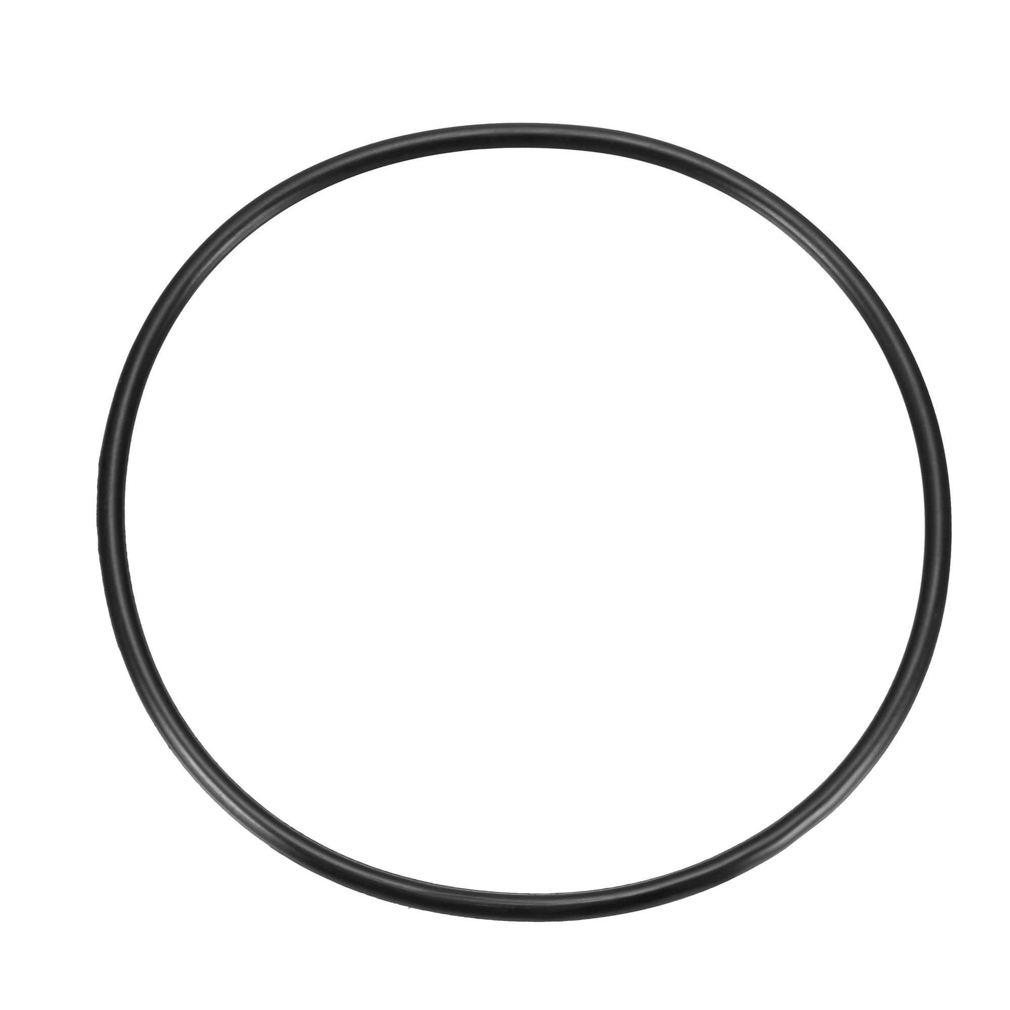 Black 180mm OD 5.7mm Thickness Nitrile Rubber O-ring Oil Seal Gasket