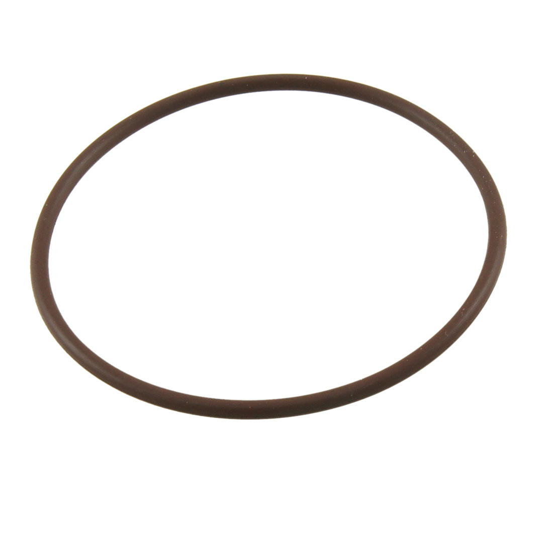 Coffee Color Flexible Fluorine Rubber O Ring Washer Oil Seal 75mm x 3mm