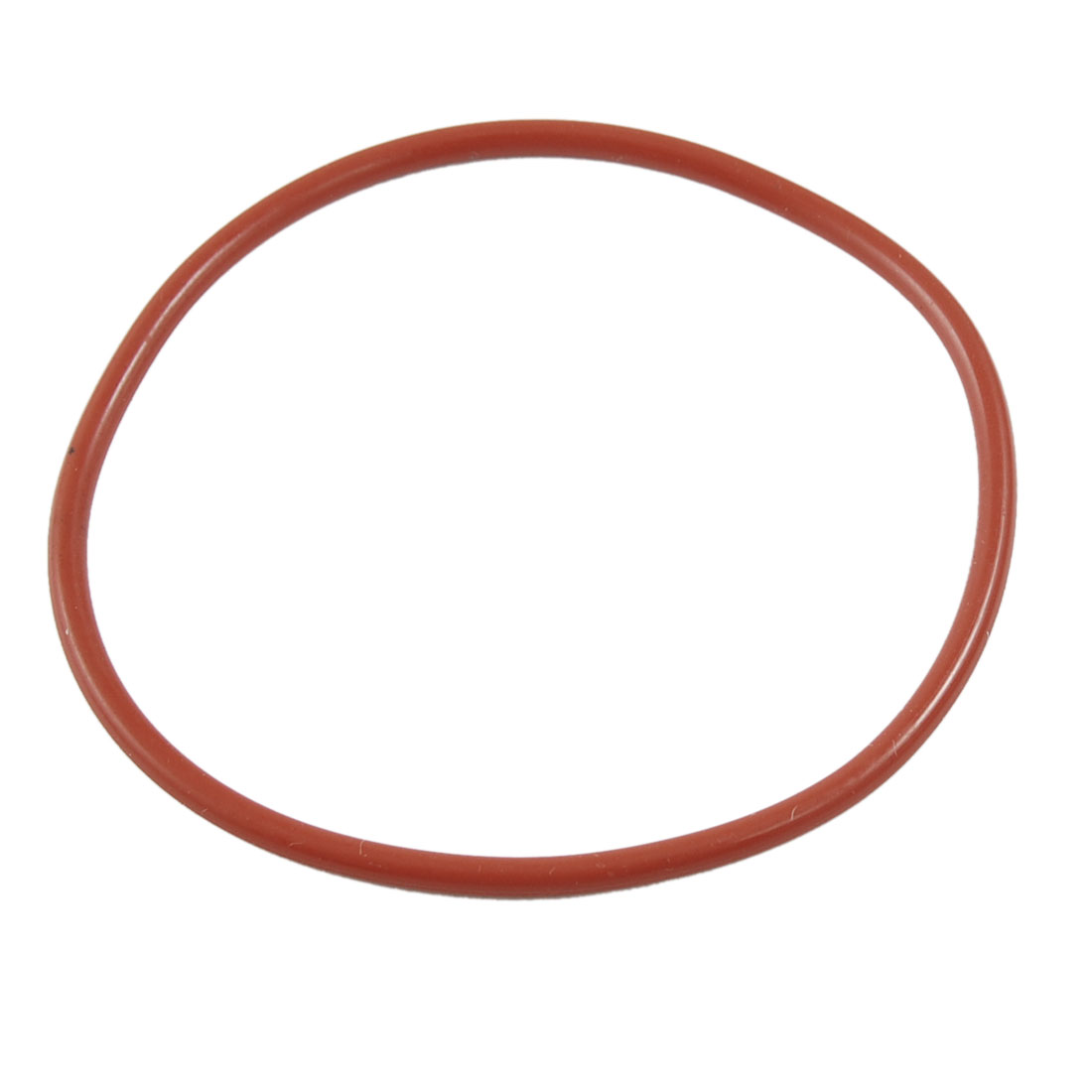 Red Silicone O Ring Oil Seal Gasket Washer Metric 75mm x 3mm