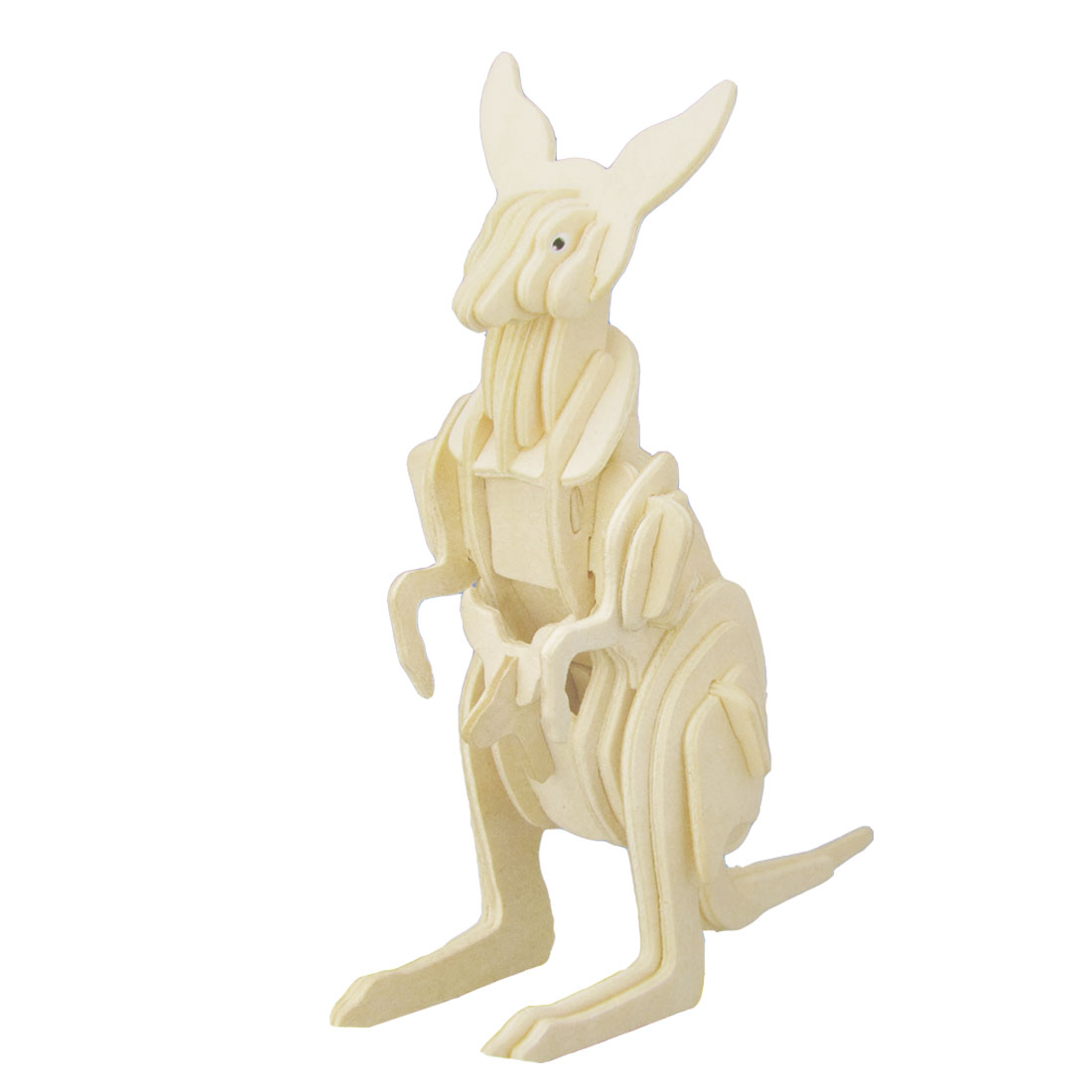 Puzzled Toy Kangaroo Model Wooden Construction Kit